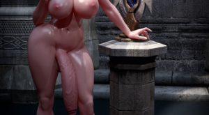 Threesome Demon Fuck – Resident Futanari